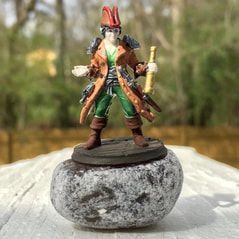 Hero Forge miniature pirate D&D